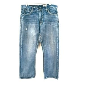 Axel Treadwell Relaxed Straight Jeans 36x30